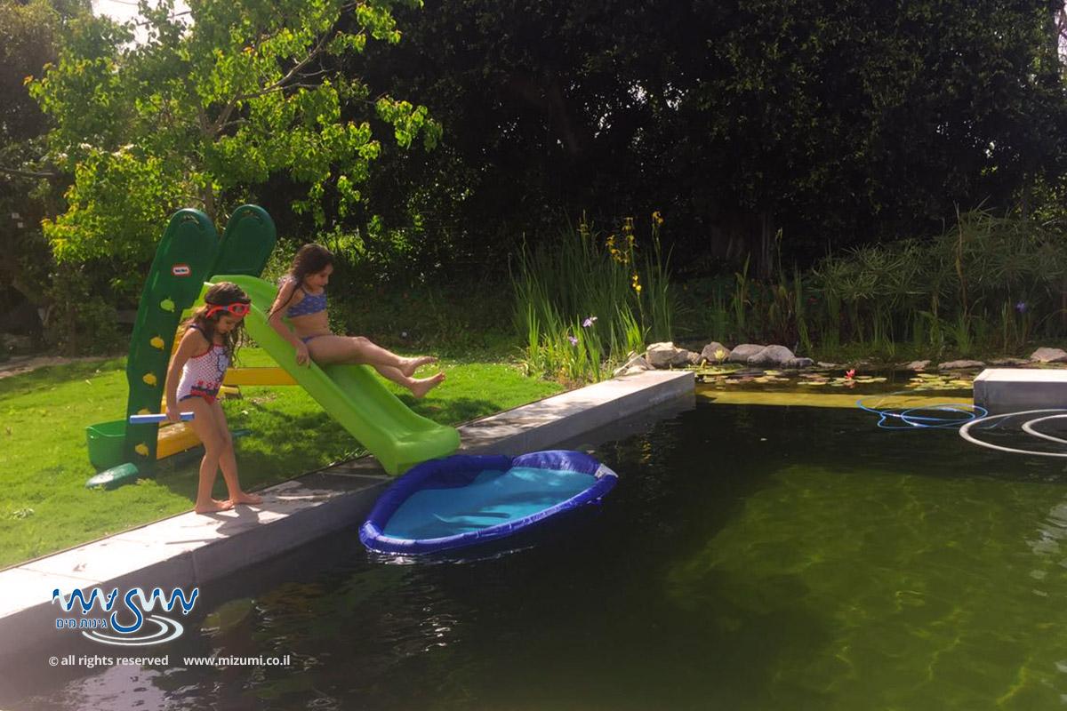 בריכת שחייה טבעית אקולוגית